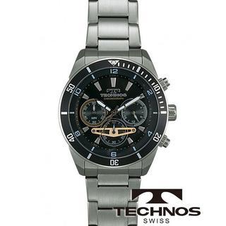 テクノス(TECHNOS)のTECHNOS [テクノス] 腕時計 クロノグラフ 10気圧防水 T5640SB(腕時計(アナログ))