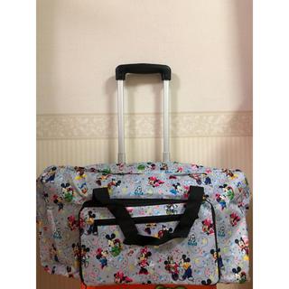 ディズニー(Disney)のディズニー ミッキー フレンズ キャリーオン ボストンバッグ 旅行バッグ(ボストンバッグ)