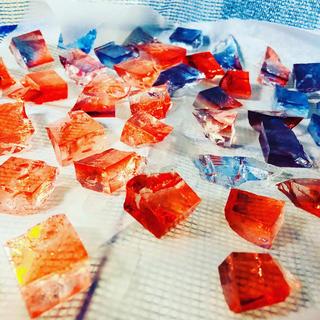 食べられる宝石💎琥珀糖(菓子/デザート)