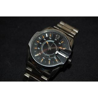 ディーゼル(DIESEL)のディーゼル  DIESEL  腕時計  DZ-1208  メンズ  黒   動作(腕時計(アナログ))