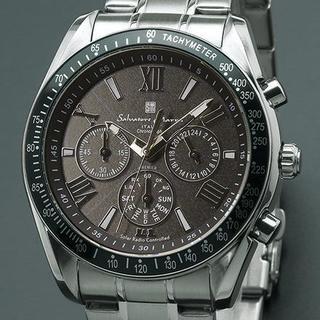 サルバトーレマーラ(Salvatore Marra)のSalvatore Marra SM15116-SSBKSV 電波ソーラー (腕時計(アナログ))