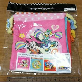 ディズニー(Disney)のロックアラウンドザマウス ミニ巾着(キャラクターグッズ)