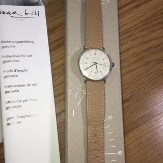 ユンハンス(JUNGHANS)のマックスビル ユンハンス 腕時計(腕時計(アナログ))