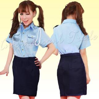 コスプレ ポリス 警察 警官 ミニスカポリス セクシー 3520-3521(衣装)