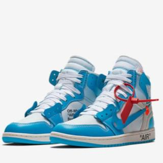 AIR JORDAN 1 OFF-WHITE nike(スニーカー)