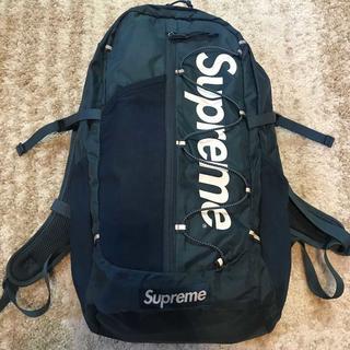 シュプリーム(Supreme)のSupreme 17SS Backpack ブルー(バッグパック/リュック)