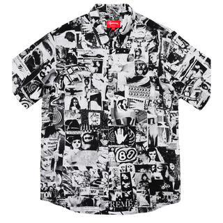 シュプリーム(Supreme)のシュプリーム vibrations rayon shirt supreme(シャツ)