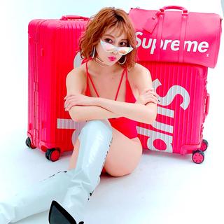 シュプリーム(Supreme)のSupreme rimowa 45L シュプリーム リモワ オンライン購入正規品(トラベルバッグ/スーツケース)