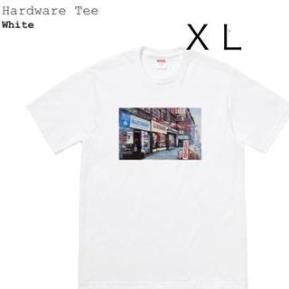 シュプリーム(Supreme)のsupreme Hardware Tee XL ハードウェア 白 ホワイト(Tシャツ/カットソー(半袖/袖なし))