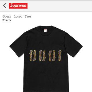 シュプリーム(Supreme)のSupreme Gonz Logo Tee Mサイズ ブラック ゴンズ(Tシャツ/カットソー(半袖/袖なし))