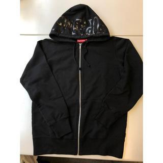シュプリーム(Supreme)のSupreme Hooded Foil Logo ジップアップ パーカー(パーカー)