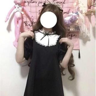 【限定セール】可愛い❤️ロリータワンピース黒アンクルージュ ハニーシナモン(衣装一式)