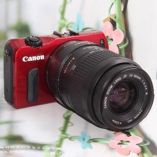 キヤノン(Canon)の❤️嬉し過ぎるWi-Fi SDカード付き❤️キヤノン EOS M ❤️(ミラーレス一眼)