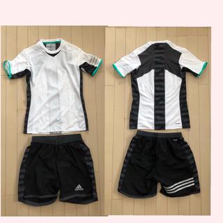 アディダス(adidas)のフットサルウェア 白 黒 スポーツ(ウェア)
