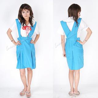 クリックポスト送料無料 コスプレ服 エヴァンゲリオン制服風 3038-3040(衣装)