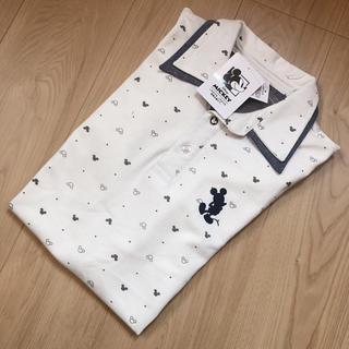 ディズニー(Disney)の【新品・タグ付】サイズL* ディズニー ミッキー ポロシャツ  半袖(ポロシャツ)