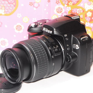 ニコン(Nikon)の❤️初心者入門機❤️Nikon D40x レンズキット❤️オマケ付き❤️(デジタル一眼)