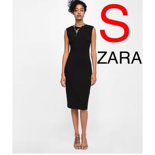 ザラ(ZARA)のZARA  チューブドレス ワンピース(ひざ丈ワンピース)
