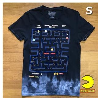 バンダイ(BANDAI)のバンダイ PAC-MAN パックマン Tシャツ 【S】黒 新品 180720(Tシャツ/カットソー(半袖/袖なし))