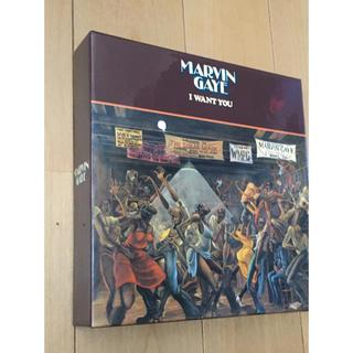 Marvin Gaye  マーヴィンゲイ 限定CDボックス I Want You(R&B/ソウル)