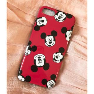Disney - 新品❤︎ iPhone7/8 Disney ミッキー face カバー