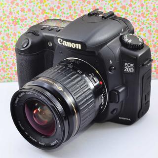 ✨しっかり美しいフォルム&簡単操作✨キャノン EOS 20D レンズセット(デジタル一眼)