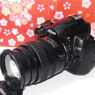 ニコン(Nikon)の❤️自撮りOK❤️Nikon D5000レンズキット❤️オマケ付き❤️(デジタル一眼)