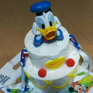 ディズニー(Disney)のドナルド バースデー ポップコーン バケット♪(キャラクターグッズ)