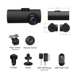 C1ドライブレコーダー FHD 1080P車カメラ IMX323 Exmor C(車内アクセサリ)
