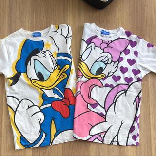 ディズニー(Disney)のディズニーリゾート ドナルド&デイジー Tシャツ 2枚セット(Tシャツ(半袖/袖なし))