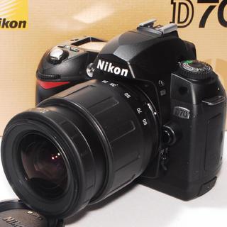 ニコン(Nikon)の❤️操作簡単❤️Nikon D70 レンズキット❤️(デジタル一眼)