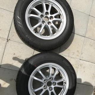 ブリヂストン(BRIDGESTONE)の激安 プリウス50系 タイヤ&ホイール2本 15インチ(タイヤ・ホイールセット)