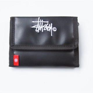 ステューシー(STUSSY)のステューシー☆ロゴ刺繍入りウォレット(折り財布)