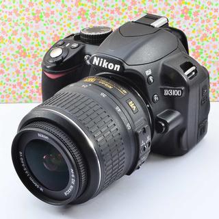 ✨Wifiでスマホに転送 & 手ぶれ補正✨ニコン D3100 レンズセット(デジタル一眼)