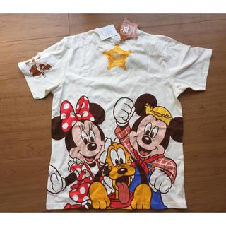 ディズニー(Disney)の★新品★ディズニーランド♡33周年♡Tシャツ♡Mサイズ(Tシャツ/カットソー(半袖/袖なし))