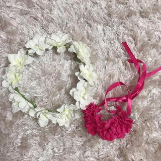 ウィゴー(WEGO)のWEGO 花冠&ブレスレット セット(その他)