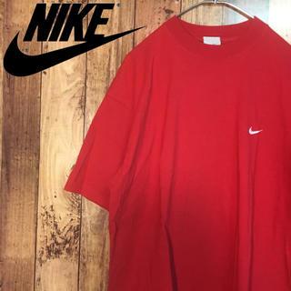 ナイキ(NIKE)の【美品】ナイキ NIKE ワンポイト 胸ロゴ Tシャツ スウォッシュ  90's(Tシャツ/カットソー(半袖/袖なし))