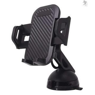吸盤 強力ゲル吸盤式 スマホホルダー 携帯 車ホルダー 伸縮(車内アクセサリ)