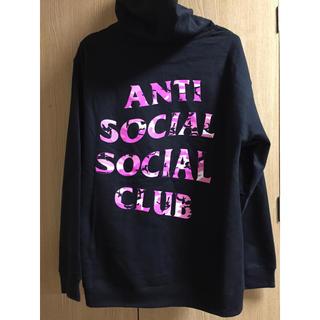 シュプリーム(Supreme)のanti social social club パーカー M 正規品(パーカー)