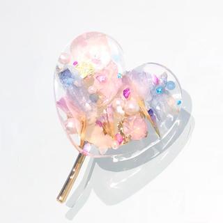 夢色の花びら♡クリアポニーフック(その他)