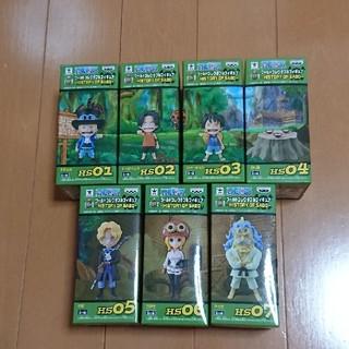 ワンピース ワールドコレクタブル HISTORY OF SABO 全7種(アニメ/ゲーム)