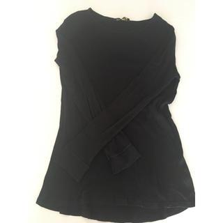 バルマン(BALMAIN)のメンズ BALMAIN×H&M コラボ ロングTシャツ(Tシャツ/カットソー(七分/長袖))