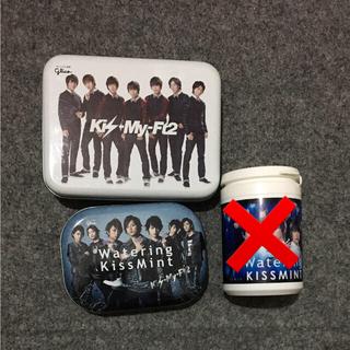 ジャニーズ(Johnny's)のKis-My-Ft2 缶 ボトル(アイドルグッズ)