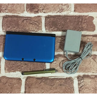 ニンテンドー3DS(ニンテンドー3DS)の3DS LL ブルー 動作確認済み(携帯用ゲーム本体)