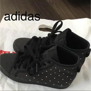 アディダス(adidas)のアディダス★ハイカット スニーカー(スニーカー)