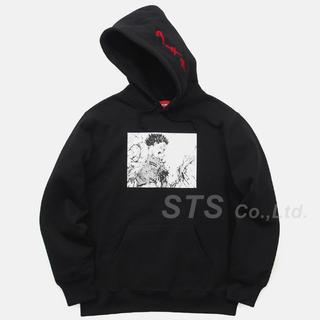 シュプリーム(Supreme)の込みL supreme akira arm hooded sweatshirt(パーカー)