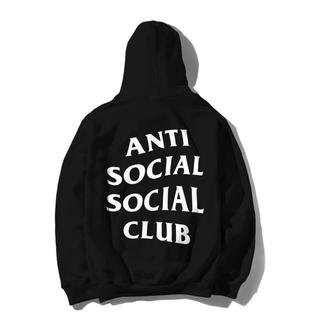 シュプリーム(Supreme)の込みM anti  social social club mind hood(パーカー)