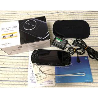 プレイステーションポータブル(PlayStation Portable)のPSP 3000 PlayStation Portable 付属品ほぼ有(携帯用ゲーム本体)