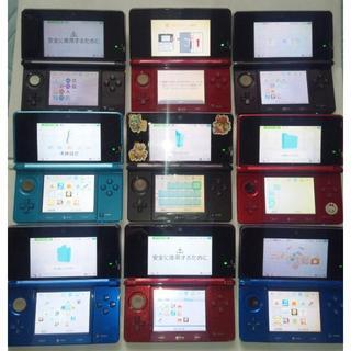 ニンテンドー3DS(ニンテンドー3DS)の送料無料 3DS 本体 9台セット ジャンク(携帯用ゲーム本体)