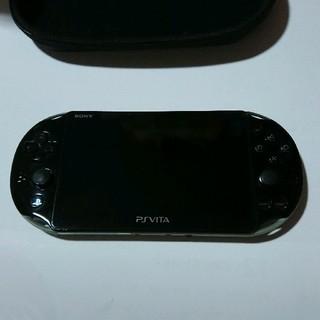 プレイステーションヴィータ(PlayStation Vita)のvita2000 カーキ(携帯用ゲーム本体)